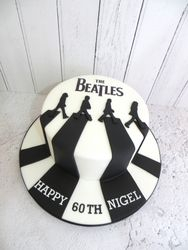 60th Birthday Beatles Cake