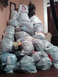 100 Bags of Clothing