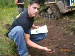 Checking Soil for pH & Moisture Content