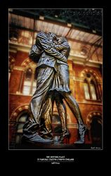 The Meeting Place, St Pancras Station, London, England