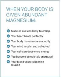 Magnesium benefits are Amazing!