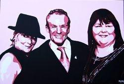 LINDA HENRY, BOBBY DAVRO AND CHERYL FERGISON