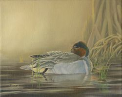 "Morning Solitude (8 by 10"" oil on canvas) In Private Collection"