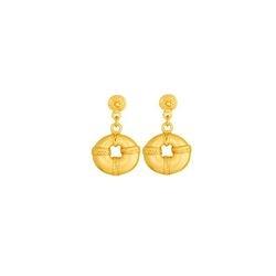 Aretes pequenos de nariguera - Precolumbian nose piece small earrings