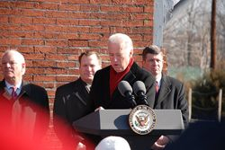 Vice President Biden visit to Laurel