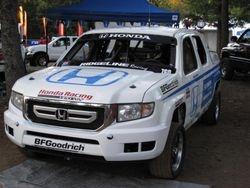 Gavin Skilton's desert racer