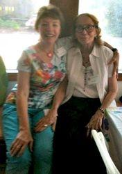 Sandra Theall and Bera Smith