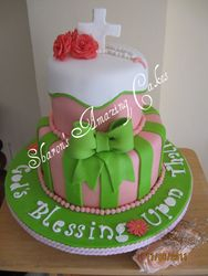CAKE 09BABY -Christening Cake 1