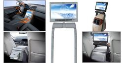 Car Central Armrest TFT LCD Monitor