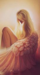 Angel in Quiet Thought