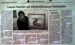 Newspaper Suomenselkä 9.6.2011