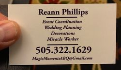 Reann Phillips Wedding Planner