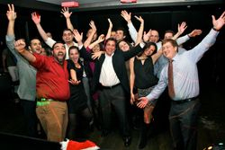 Happy Clients Christmas Party!