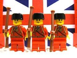 British Light Infantrymen 1759