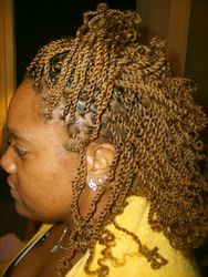 Synthetic Hair Kinky Twists