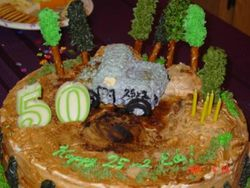 Mud Bogging Cake