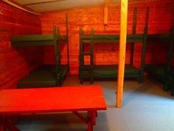3 bunks per cabin