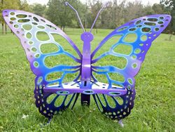 Cool Tone Butterfly Throne - Chair