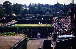 649 Outside Courts Wimbledon