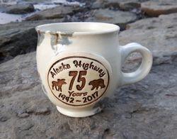 Alaska Highway Anniversary Mug