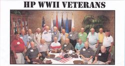 Heritage Palms WWII Veterans 2015