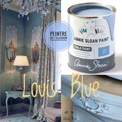 Louis Blue Chalk Paint Annie Sloan