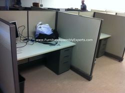 used office cubicle installation service in baltimore MD