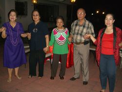 the pillars - elders and ate connie labitan_team couples party