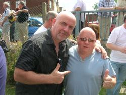 Keith Myatt and Neil Evans ( Tom Thumb)