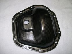 Rear End Cover Processed in Carbon Fiber