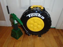 Tonka Mighty Minis MegaBloks Tire Track Set - $10