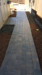 Forest Gove Paver Pathway