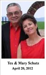 Tex & Mary Schutz, 04/20/2012