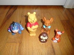 """Disney Winnie The Pooh 2"""" Figure Set - $10"""