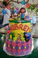 Dora's Friends Cake
