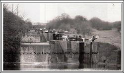 Brierley Hill Locks.