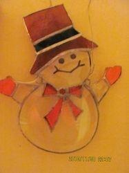 Beveled Snowman