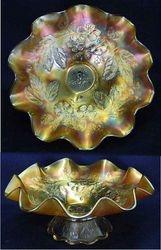 Dogwood Spray, dome ftd bowl, marigold