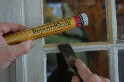 Window repair with RepairitQuik