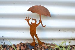 Singing in the Rain Froggy