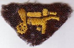 WWII handmade interest Badge (Gardener)