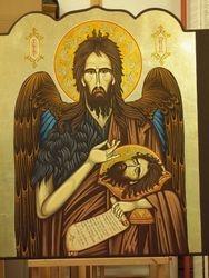 Sfantul Ioan Botezatorul iconostas