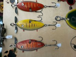 Giant Metal Sculptural Lures