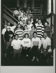VC with Gunther Schuller and the 1990 conducting class at the Festival at Sandpoint