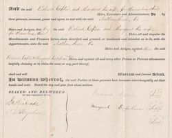 Property Deed from Richard Coplin to Nathan Snare - Page 4