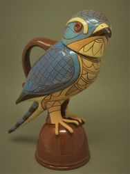 "Sparrowhawk jug 13"" tall"