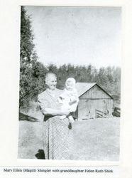 Mary Ellen Shingler and Helen Shirk