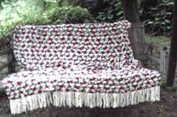 Country Rose Garden Afghan - View 4