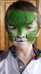Cute celtic tiger