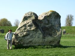 Clive and bigger stone!